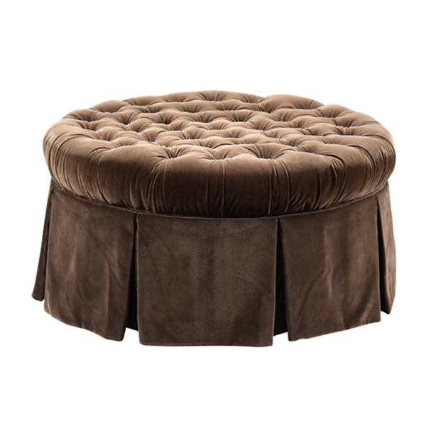 Elizabeth Ottoman With Skirt