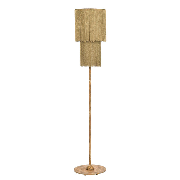Zephyr Gold Floor Lamp by shopbarclaybutera