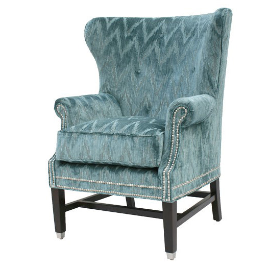 Rockwell Wing Chair design by shopbarclaybutera