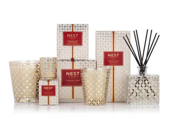 Sparkling Cassis Reed Diffuser design by Nest Fragrances