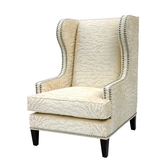 Walfdorf Wing Chair design by shopbarclaybutera