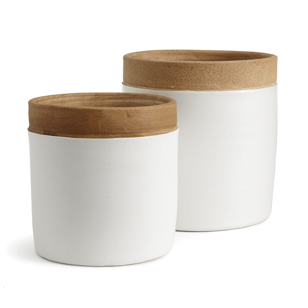 Atwood Cachepots, Set of 2