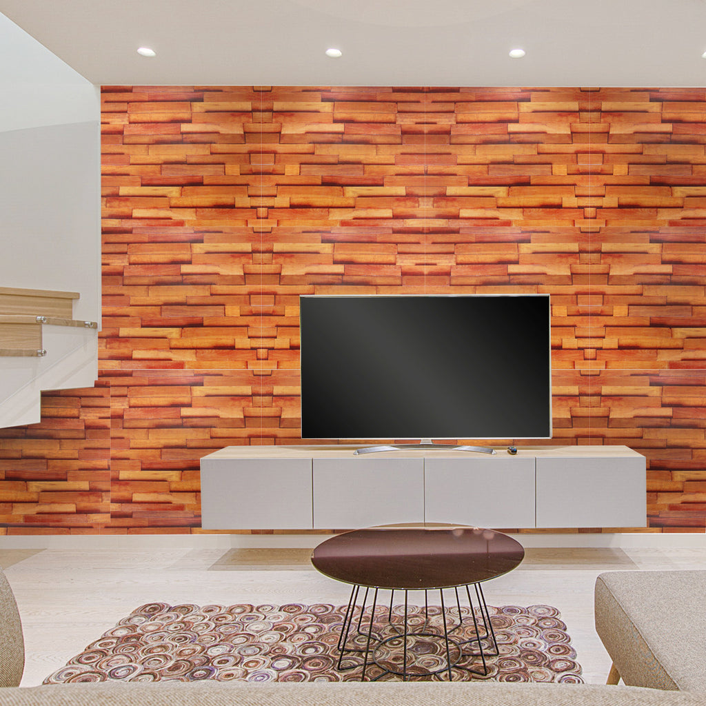 Wood Grain Print Self-Adhesive Wallpaper | Free Shipping