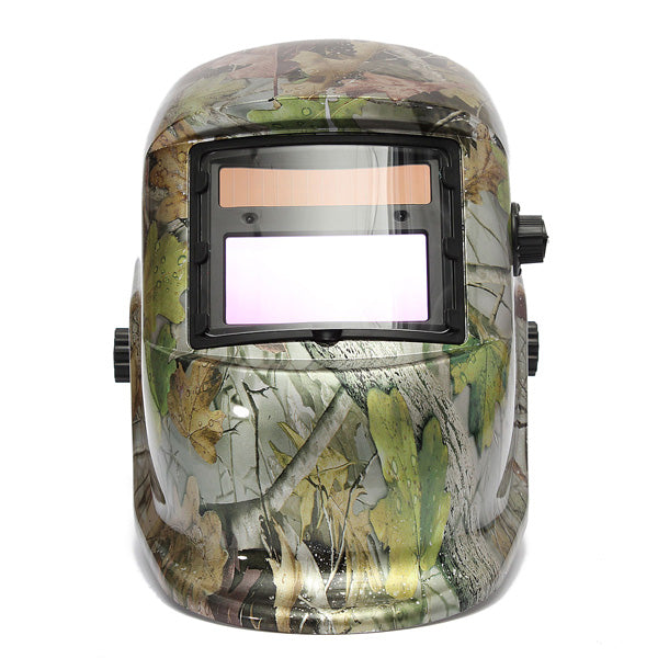 Auto-Dimming Welding Mask | Forest Camo Design | DIN 9-13 | Free Shipping