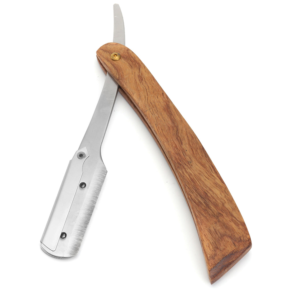 Rosewood Handle Straight Razor | Get the closest shave of your life with this classy tool