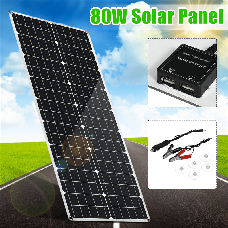 Portable, Flexible, Waterproof Solar Panel | Solar Power To Go