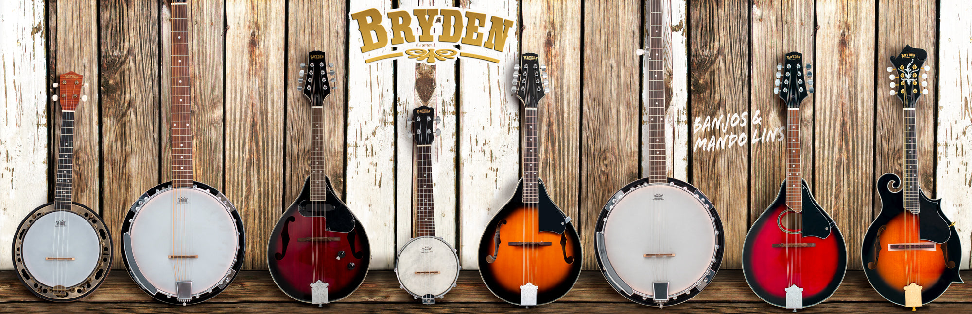 Bryden Mandolins and Banjos
