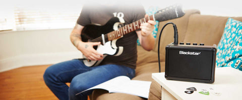 The perfect portable mini guitar amp with Tape Delay effect