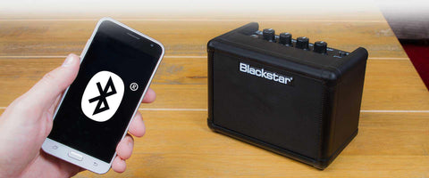 Bluetooth connectivity for listening / jamming along to music