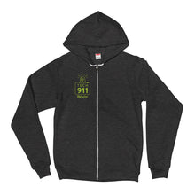 "Load image into Gallery viewer, ""Tech 911"" Zip Up Hoodie"