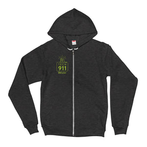 """Tech 911"" Zip Up Hoodie"