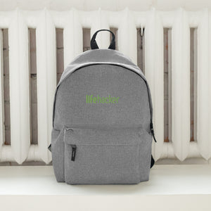 Lifehacker Logo Embroidered Backpack