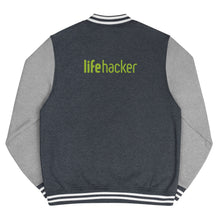 Load image into Gallery viewer, Lifehacker Logo Letterman Jacket