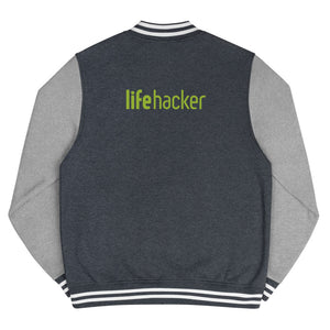 Lifehacker Logo Letterman Jacket