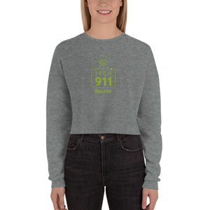 """Tech 911"" Crop Sweatshirt"