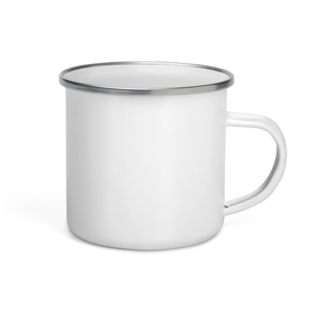 Offspring Logo Enamel Mug