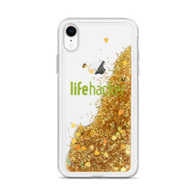 Load image into Gallery viewer, Lifehacker Logo Liquid Glitter Phone Case
