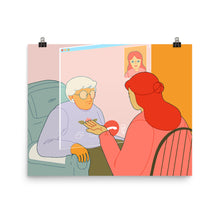 Load image into Gallery viewer, Covid Elderly Talk Poster