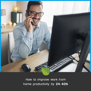How to improve work from home productivity by 24-40%... by removing this ONE concentration killer