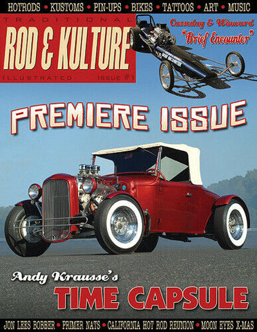 Traditional Rod & Kulture Magazine #1