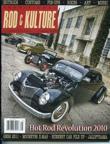 Traditional Rod & Kulture Magazine #25