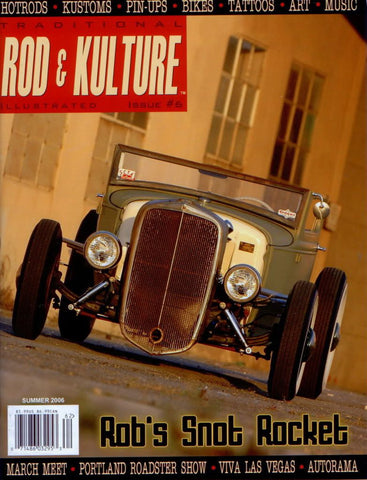 Traditional Rod & Kulture Magazine #6