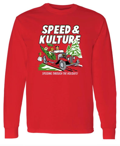 Speeding Through the Holidays - Long Sleeve T-shirt