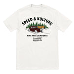 Pine Tree  Jamboree T-shirt (white)