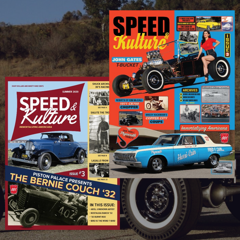 Limited Edition Speed and Kulture Issue #3 Covers Poster Set