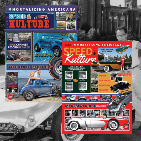 Limited Edition Speed and Kulture Issue #4 Covers Poster Set