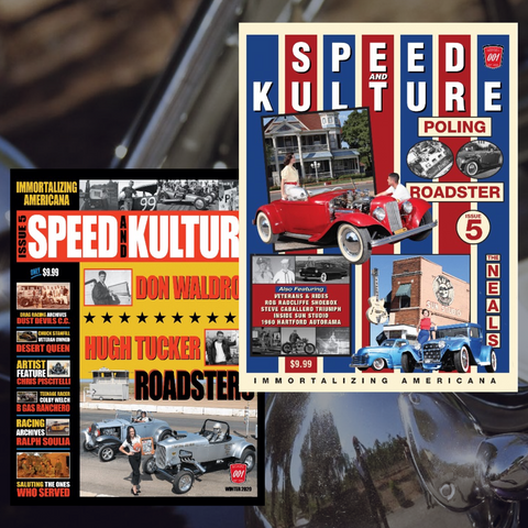 Limited Edition Speed and Kulture Issue #5 Covers Poster Set