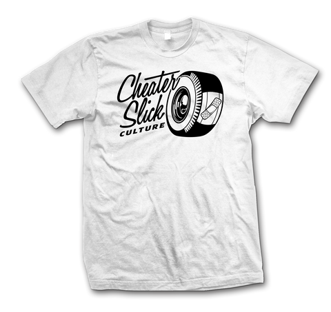 Cheater Slick Culture Original Logo White