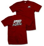 Speed and Kulture Magazine T-shirt Red