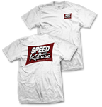 Speed and Kulture Magazine T-shirt White