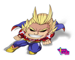 All Might Smile Chibi