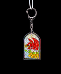 Keychain - Stained Glass ~ Ho-Oh