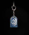 Keychain - Stained Glass ~ Lugia/Shadow Lugia