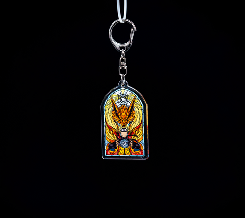 Keychain - Stained Glass Naruto