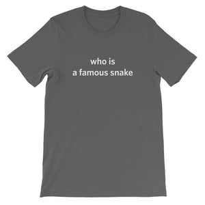 Famous Snake Tee