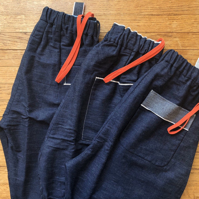 himukashi/Denim Pants 3type