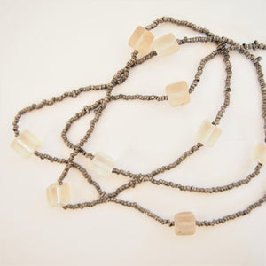 African beads necklace_003 - ocoge shokuba