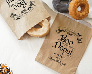 Boo To You And A Donut Too!