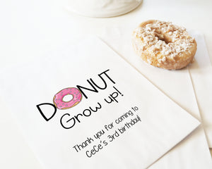 Donut Grow Up! - Pink