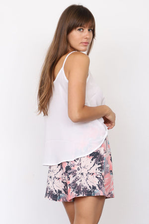 Pink Abstract Short_Plus