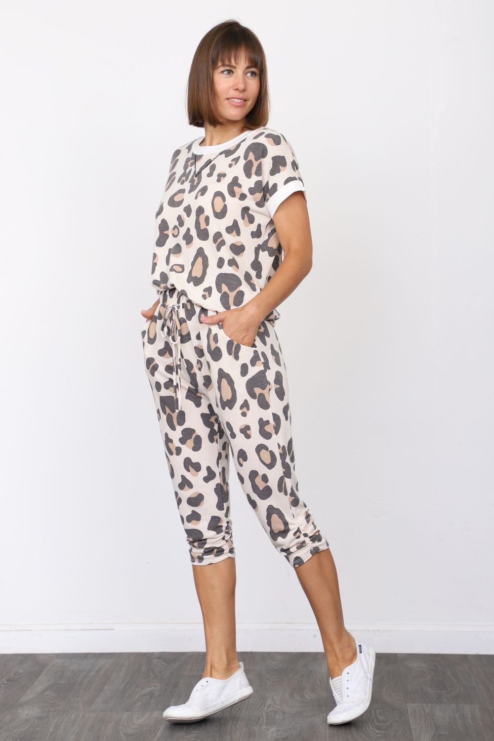 Leopard Top & Jogger Set