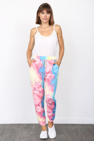 Unicorn Tie Dye Jogger Pants_Plus