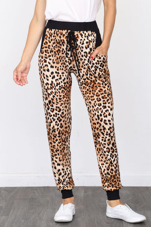 Leopard Jogger Pants_Plus