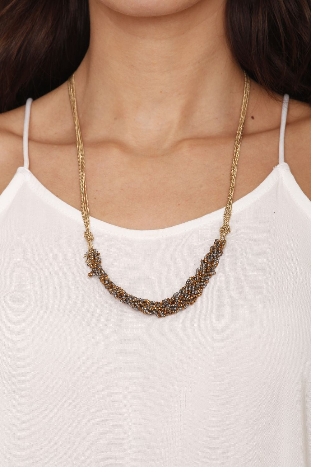 Braided Beads Necklace