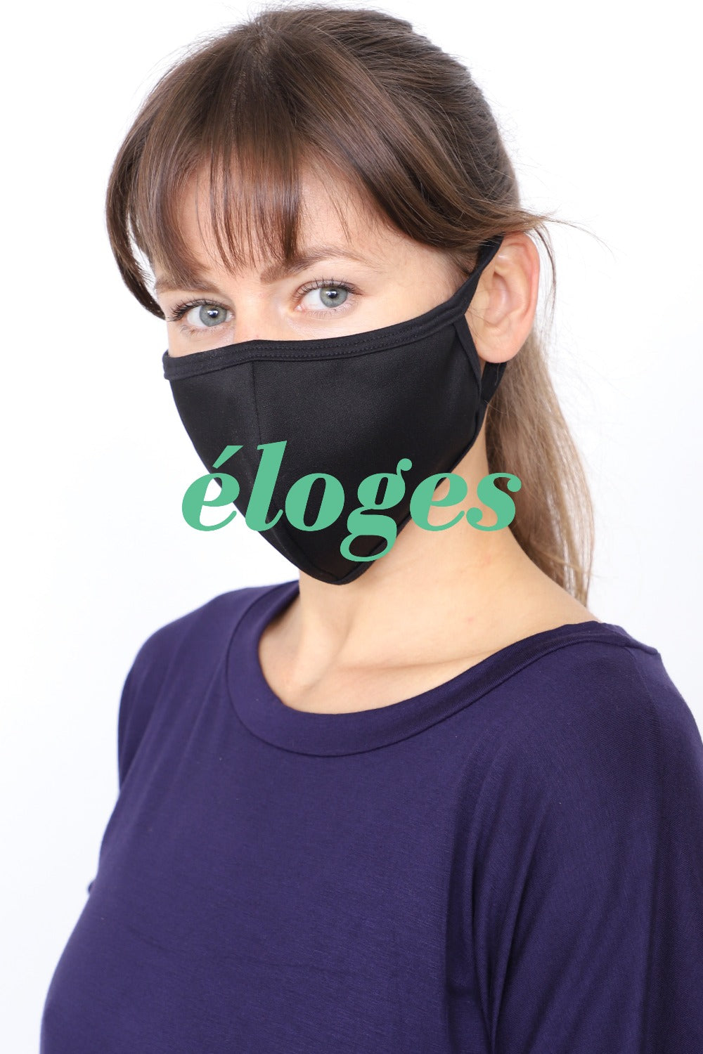 Mask Black Only Pack (2pcs)
