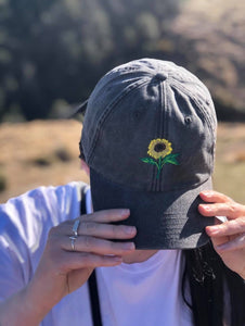 Vintage Sunflower Cap - Flora Originals